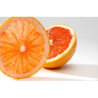 Grapefruit rot, Stück