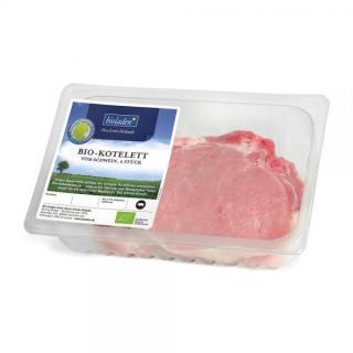 Schweine Koteletts, 2 Stück, ca. 450g