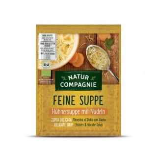 Hühnersuppe mit Nudeln, 40g