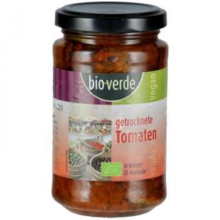 getrockn. Tomaten in Öl mit Basil, 200g