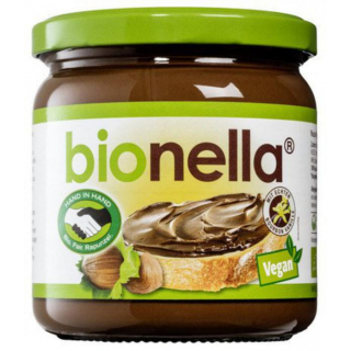 bionella Nuß-Nougat-creme, vegan 400g