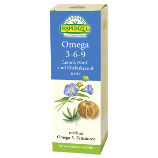 Lein-Hanf-Kürbiskernöl, 3-6-9-, 250 ml