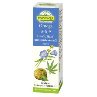 Lein-Hanf-Kürbiskernöl, 3-6-9-, 100 ml