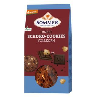Dinkel Schoko-Cookies ,150g