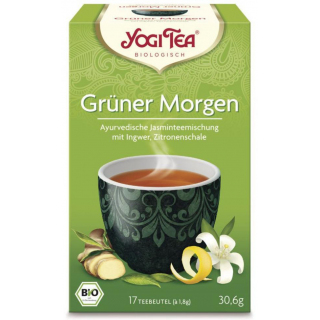 Grüner Morgen Tee, 15x2 g