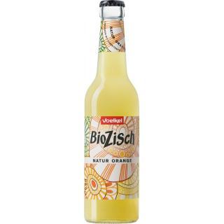 Bio Zisch Natur Orange 0,33 l+ Pfand
