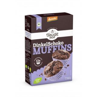 Backmisch Dinkel Muffins Schoko, 300 g