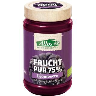 Frucht pur Brombeere, 75% Frucht, 250g