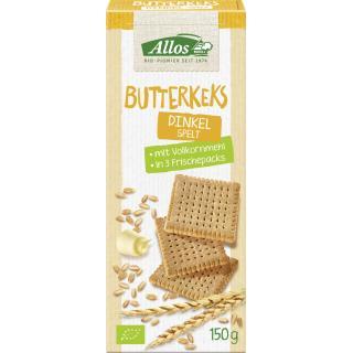 Dinkel Butter Kekse, 150g