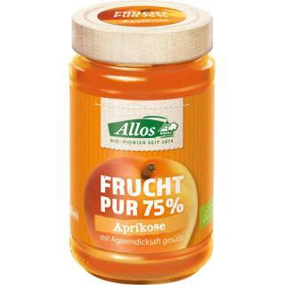 Frucht pur Aprikose, 75% Frucht, 250g