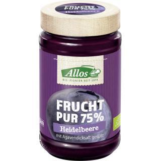 Frucht pur Heidelbeere, 75% Fucht, 250g