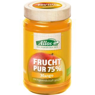 Frucht pur Mango, 75% Frucht, 250g
