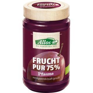 Frucht pur Pflaume, 75% Frucht, 250g