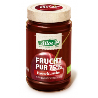 Frucht pur Sauerkirsch, 75% Frucht,250g