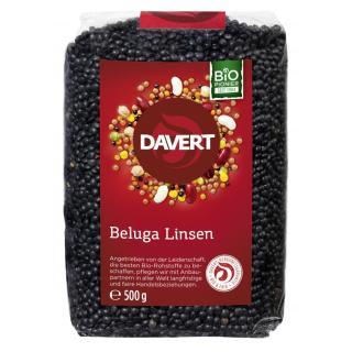 Beluga Linsen schwarz, 500g