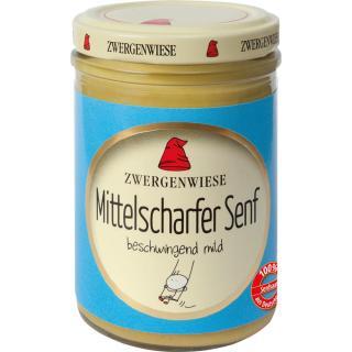 Senf mittelscharf 160 ml