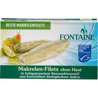 Makrelenfilet ohne Haut+Gräten