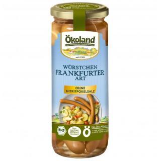 Würstchen Frankfurter im Glas, 250g