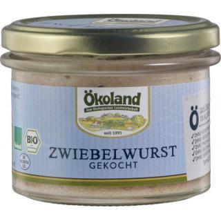 Zwiebelwurst Gourmet Qualität, 160g