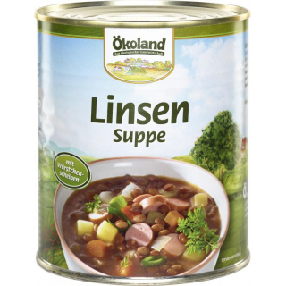 Linsensuppe, 800ml