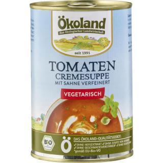 Tomaten Cremesuppe vegetarisch, 400ml