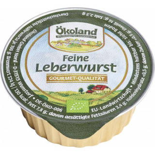 Leberwurst fein, 50g Dose