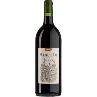 Wein Vinello rosso, 1 Liter, + Pfand
