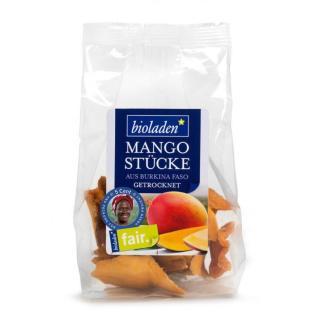 Mangostücke getrocknet, 100g