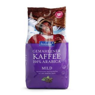 Kaffee 100% Arabica, mild, 500 g