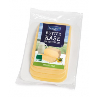 Butterkäse in Scheiben