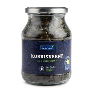 Kürbiskerne, 320g Glas + Pfand