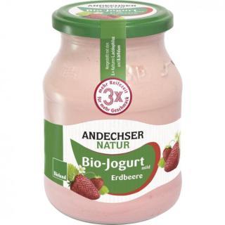 Joghurt Erdbeere, 500g + Pfand
