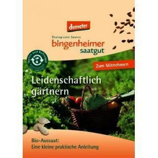 Info Broschüre gärtnern kostenlos