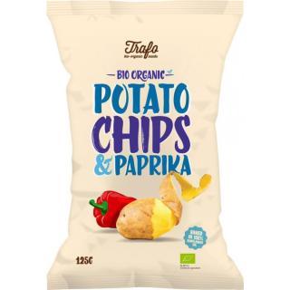 Chips Paprika Kartoffel, 125g
